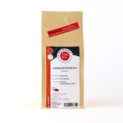 Lampocoy Grand Cru, Mainzer Kaffeemanufaktur